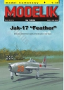 "MODELIK 18/04 JAK-17 ""FEATHER"""