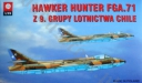 PLASTYK 025 Hawker Hunter FGA.71