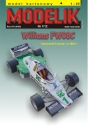 MODELIK 01/12 WILLIAMS FW 08 C